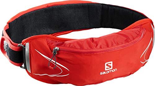 Salomon AGILE 500 BELT SET Cinturón de trail running, Rojo (Fiery Red),...