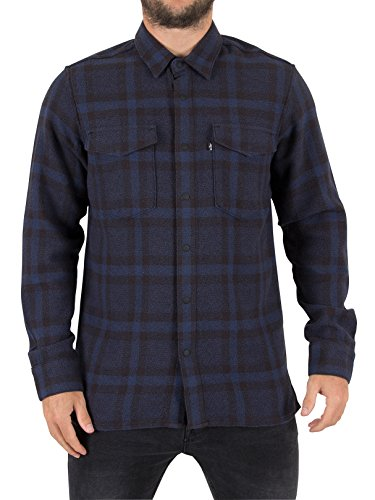 Levi's Herren Line 8 Workshirt, Blau Blau