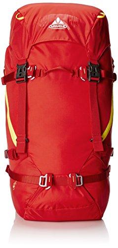 Vaude, Zaino Escapator, 40 Litri, Nero (black), 51 x 25 x 18 cm Rosso (red)
