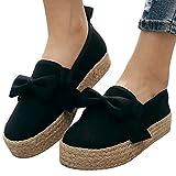 Mymyguoe Zapatos Gruesos de Plataforma Ocasionales Roman Sandalias Planas Zapatos Mujer Tallas Grandes Sandalias Mujer Verano 2019 Casual Sandalias niña Sandalias Romanas de Mujer