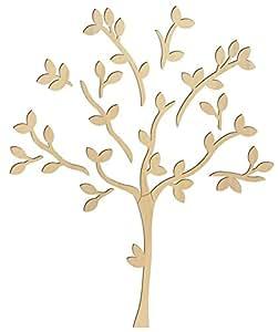 Holz-Wanddeko Baum