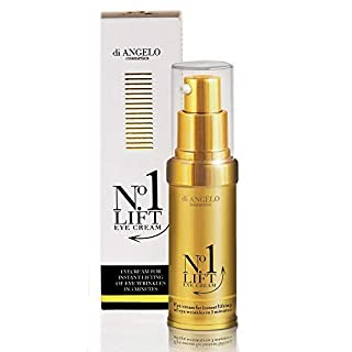 Di Angelo No1 Lift Eye Cream Instant Effect After 3 Minutes 15ml Made in Italy