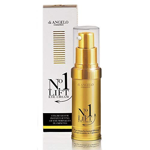 Di Angelo No1 Lift Eye Cream Instant Effect After 3 Minutes/Di Angelo No1 Lift Augencreme Sofortiger Effekt Nach 3 Minuten 15ml Made in Italy -