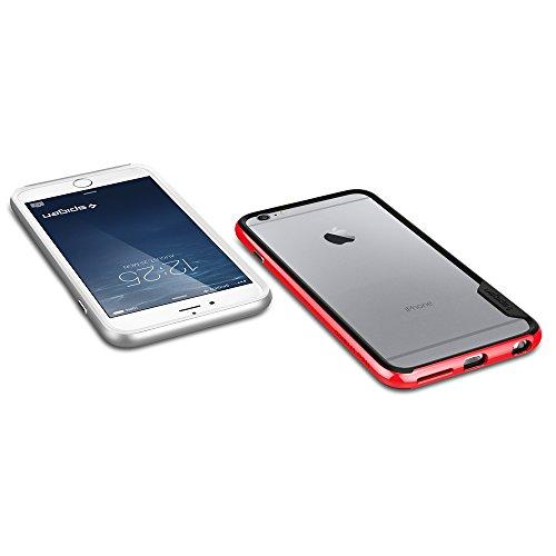 "Spigen Bumper iPhone 6 Plus (5,5"") [Bumper] Coque Bumper pour iPhone 6 Plus (5,5"") [Neo Hybrid EX] [Dante Red] Protection bumper double couche pour iPhone 6 Plus (2014) - Dante Red (SGP11058) Dante Red"