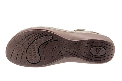 Komfort Damenlederschuh PieSanto 1807 Sandale mit herausnehmbarem Fußbett bequem breit Cuero
