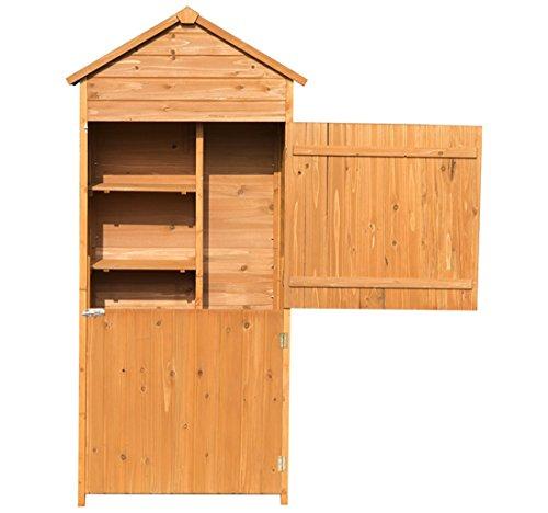 Outsunny armadio per attrezzi ripostiglio utensili da - Armadio giardino ...