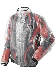 FOX MX Fluid Regenjacke, Farbe transparent, Größe S