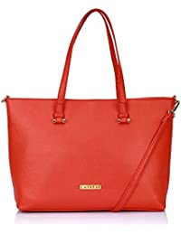 Caprese Catelyn Women's Tote Bag (Coral)