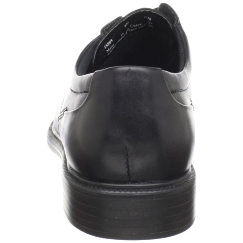 Bostonian Men's Wenham Dress Lace Up,Black Leather,10 W US Black Leather