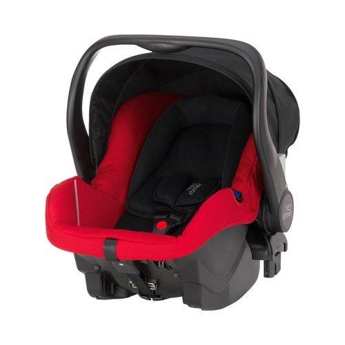 Britax Römer 2000021385, Ovetto per neonati Primo con base, 0-13 kg, Collezione 2015, Rosso (rot)