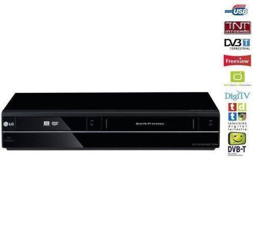 LG RCT-689H DVD-Rekorder (HDMI, DivX-zertifiziert, Upscaler 1080p, SCART, USB 2.0) schwarz -