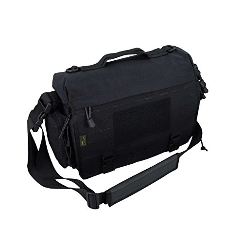 Direct Action Messenger Laptop Akten Office Bag Tasche Schwarz -