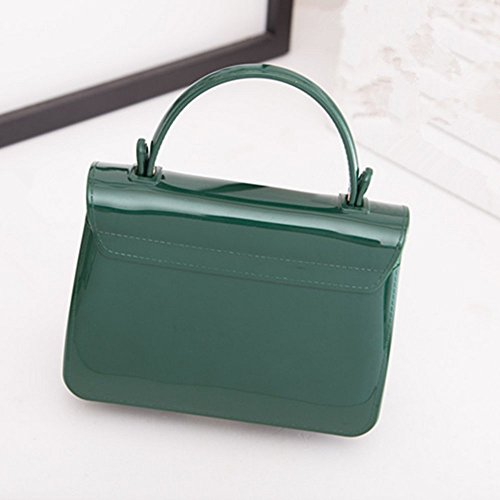 Eysee, Borsa tote donna verde scuro Red 17cm*12cm*7.5cm Dark green