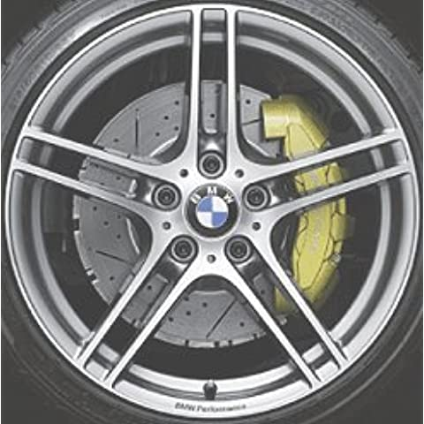 Original BMW aluminio Llanta 3E90E91E92E93Performance doble radios 313en 18pulgadas para parte delantera