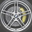 Original BMW Alufelge 3er E90 E91 E92 E93 Performance Doppelspeiche 313 in 18 Zoll für vorne