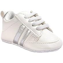 67157ce32 Zapatos para bebé Auxma Zapatillas Bebé niño niña Zapatillas Bebé Prewalker  de Cuero PU por 3