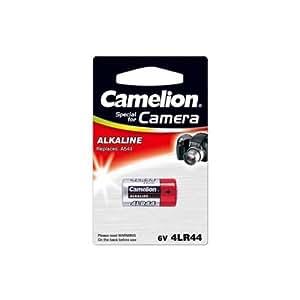 4 Stück Camelion Alkaline Foto Batterie 4LR44 6V