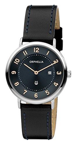 Orphelia Damen-Armbanduhr Tribute Analog Quarz Leder 11603