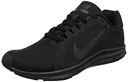 Nike Women's Wmns Downshifter 8 Training Shoes, Black (Blackblack 002), 4 Uk 37.5 Eu