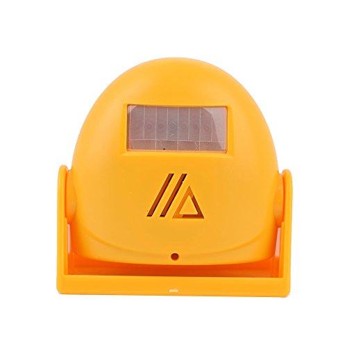 Rosepoem Elektronische Türklingel-Türklingel-Willkommensvorrichtung, Automatischer Menschlicher Körper-Sensor-Türklingel-Alarm - Orange
