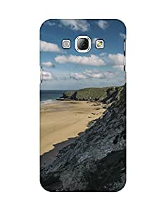 Mobifry Back case cover for Samsung Galaxy A8 Mobile ( Printed design)