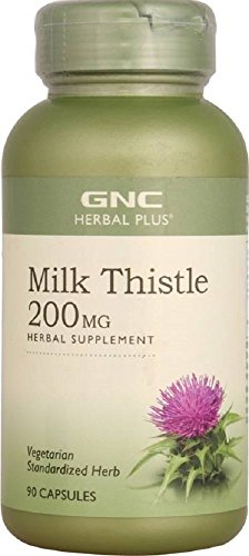 GNC Milk Thistle - 90 Capsules