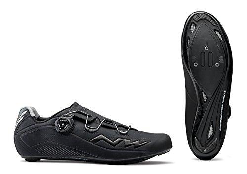 Northwave Flash 2 Carbon Rennrad Fahrrad Schuhe schwarz 2018: Größe: 41