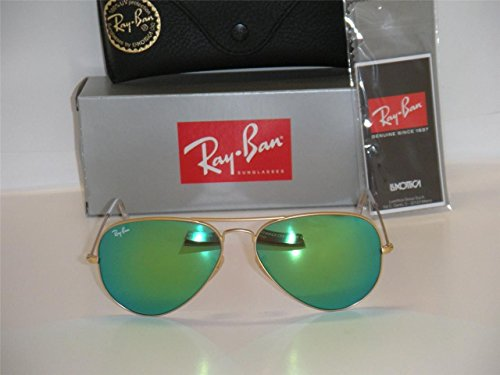 ray-ban-3025-aviator-rb-3025-112-19-58-mm-mate-oro-marco-w-multi-verde-espejo