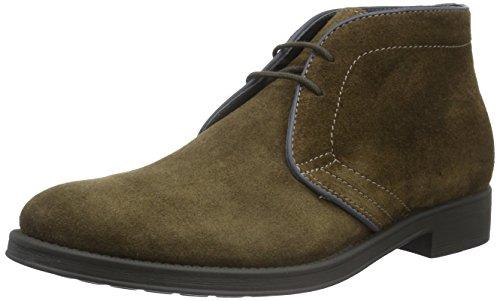 Geox Herren Uomo Blade B Desert Boots, Braun (BROWNC0013), 45 EU
