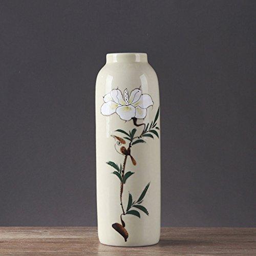 Vase en Céramique Minimaliste Moderne Salon Maison Fleur Creative Plug ZHAOJING (Taille : B)