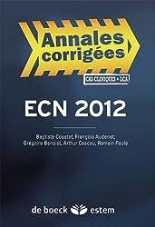 Épreuves classantes nationales 2012 : Annales corrigées