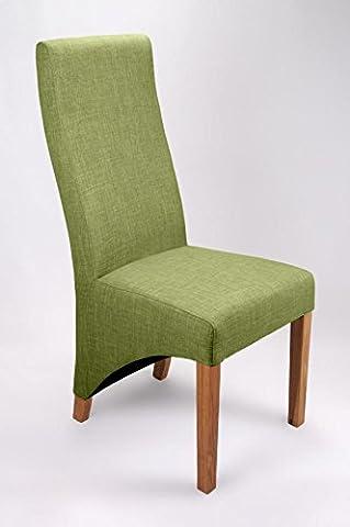 Shankar Baxter Lime Linen Style Chair