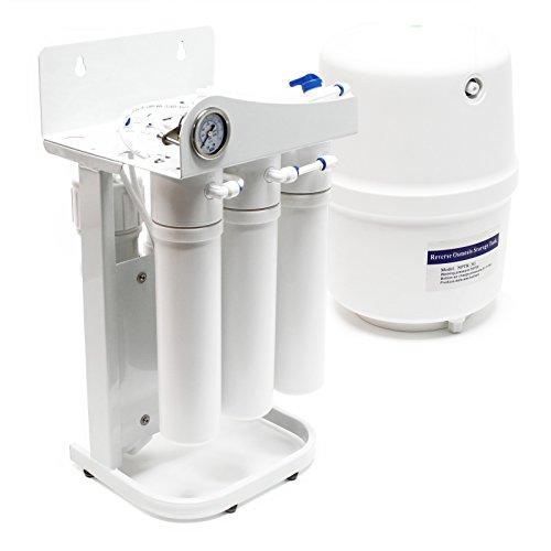 Preisvergleich Produktbild Naturewater 5 Stufen Umkehrosmose RO 180 L/Tag NW-RO50-G1 mit Rahmen und Druckanzeige