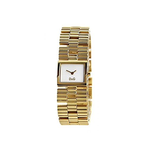 Dolce Gabbana - DW0340 - Montre Femme - Quartz - Analogique - Bracelet Acier Inoxydable Doré