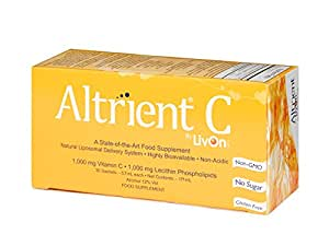 Altrient C - Liposomal Vitamin C / Lypospheric Vitamin C / Lypo-Spheric Vitamin C - Far more bio-available than Vitamin C Powder and Vitamin C Capsules. Vitamin C 1000mg