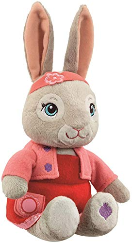 Peter Rabbit Talking Lily Bobtail 24cm Plush
