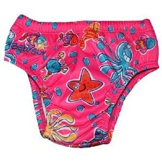 Maillot de bain-couche Babysun Rose 12-18 mois