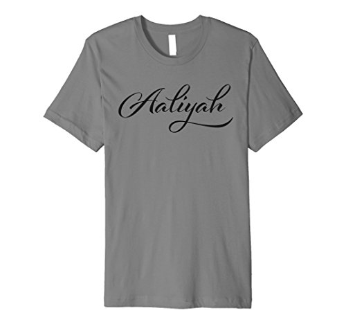 Aaliyah Name T-Shirt | stolze Man Hero Tee