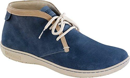 Birkenstock Scarba Pelle Blu Donna scarpe stringate - 427061 - calzata normale Blue