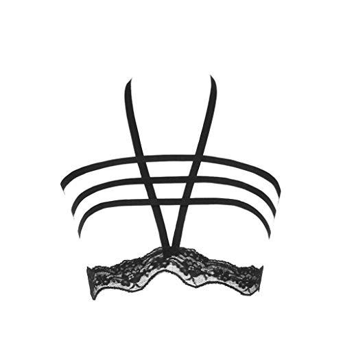 xy Erotik Spitzen BH Lingerie Unterwäsche Negligee String Reizwäsche ()