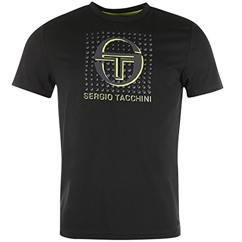 Sergio Tacchini Herren Darcy T-Shirt schwarz
