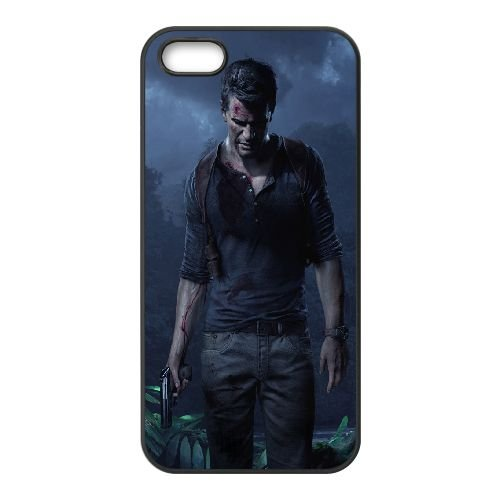 Uncharted 4 A Thief's End Uncharted iPhone 5 5s Cell Phone Case Black 91INA91212580