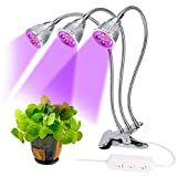 Lovebay 3*5W 15LED Pflanzenlampe Pflanzenlicht