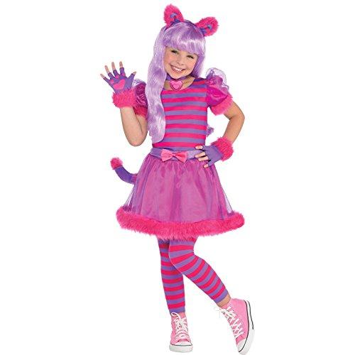 Girls Cheshire Cat 8-10 years - Kostüm Für Cheshire Kinder Cat