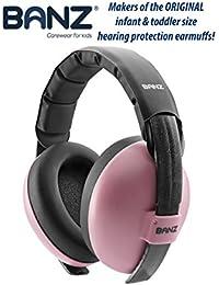 Baby Banz GBB003 protector de oido - protector de oídos Rosa