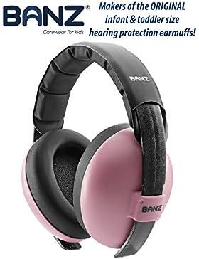 BANZ BABY EAR DEFENDERS, Auriculares inalámbricos Bluetooth, Protector acustico con almohadillas para bebés de...