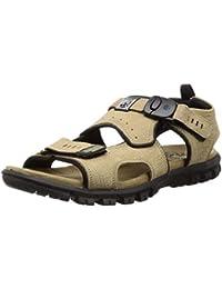 Woodland Men's Ogd 3328119_Khaki_10 Leather Outdoor Sandals-10 UK (44 EU) (11 US) 3328119KHAKI