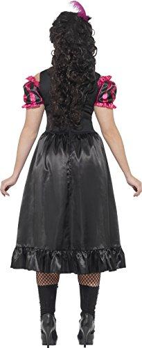 Imagen de smiffy 's disfraz de adulto de la mujer salvaje oeste saloon, vestido y pluma flor, occidental, graves fun, tamaño xxxl, 26529 alternativa