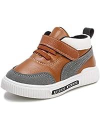 Scarpe da Ginnastica per Bambini con Velcro Scarpe Sportive Traspiranti per  Esterno Moda da Bambino Scarpe b1cc32a676f