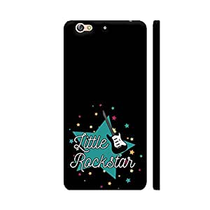 Colorpur Little Rockstar Printed Back Case Cover for Gionee S6